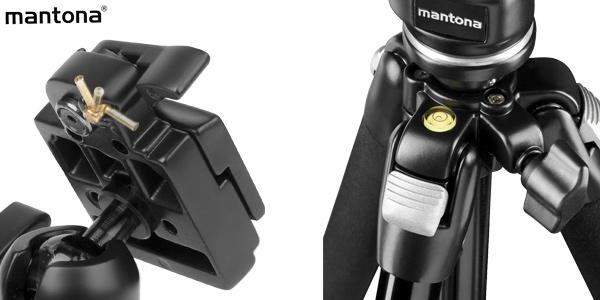 Trípode fotografía Mantona Pro Makro II de 151 cm chollazo en Amazon
