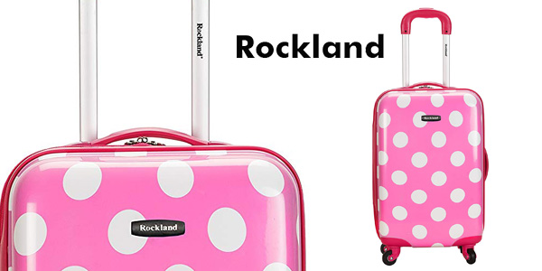 Maleta de mano Rockland Pink Dot F2081 barata en Amazon
