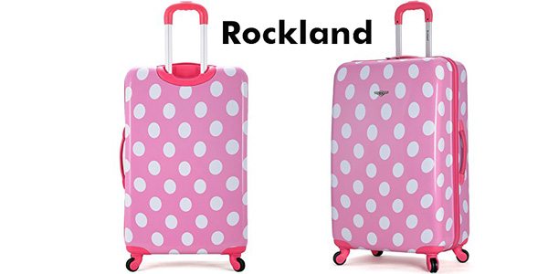 Maleta de mano Rockland Pink Dot F2081 chollo en Amazon
