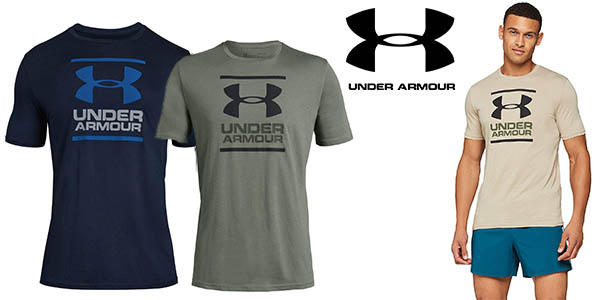 Under Armour GL Foundation camiseta de algodón barata