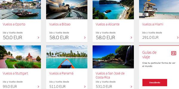 vuelos baratos Iberia España y Europa 2019