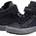 Zapatillas altas Geox J Kalispera I azul navy para niña baratas en Amazon