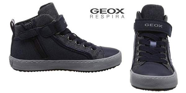 Zapatillas altas Geox J Kalispera I para niños chollazo en Amazon