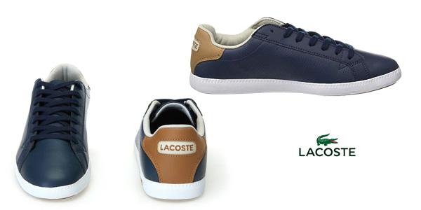 Zapatillas Lacoste Graduate CR3 en azul marino para hombre chollazo en Amazon