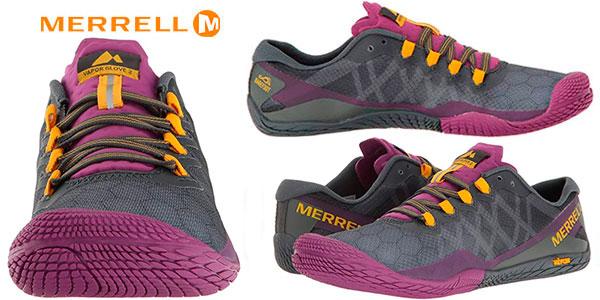 Zapatillas deportivas Merrell Vapor Glove 3 indoor para mujer en oferta