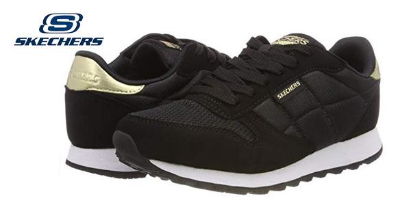Zapatillas deportivas Skechers OG 85-Clasix en negro para mujer baratas en Amazon