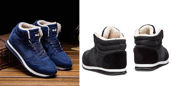 zapatillas con forro de invierno con gran relación calidad-precio
