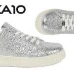 Zapatillas glitter Chika10 Rinara02 plata para mujer baratas en eBay