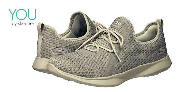 Zapatillas Skechers Serene-Tranquility color gris baratas en Amazon