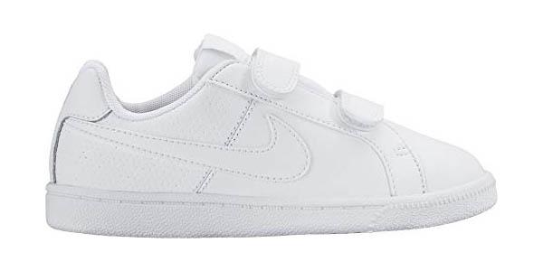 Zapatillas Nike Court Royale PSV para niñ@s con tiras de velcro y genial relación calidad-precio