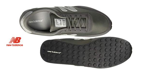 Zapatillas unisex New Balance U410 gris chollo en Amazon