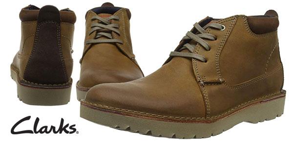 Zapatos de cordones Clarks Vargo Mid para hombre chollazo en Amazon