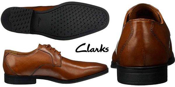 Zapatos Clarks Gilman Lace de tipo Derby para hombre en oferta