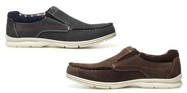 zapatos de diseño náutico en piel Paredes Guatemala con relación calidad-precio genial