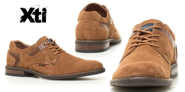 Zapatos de piel Xti Alberto para hombre color camel chollazo en eBay