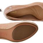 Zapatos de vestir Clarks Chorus Carol en beige para mujer chollo en Amazon