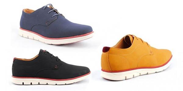 zapatos de vestir tipo Blucher para hombre oferta 2 pares