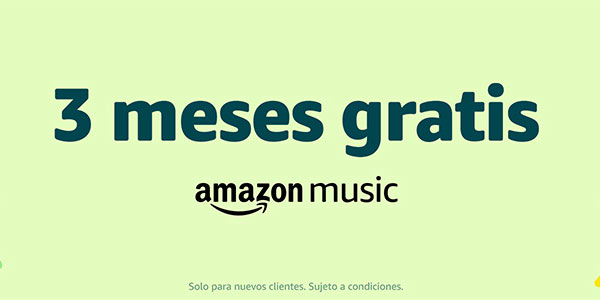 3 meses gratis Amazon Music