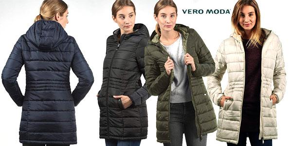 Abrigo acolchado Vero Moda Outwear para mujer barato en Amazon