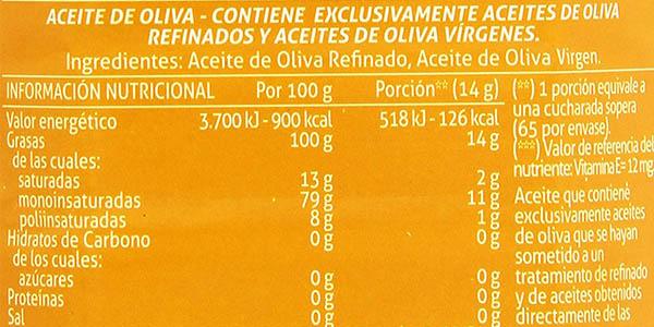 aceite de oliva para cocinar Carbonell chollo
