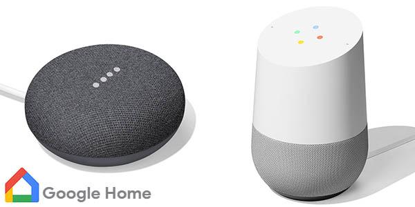 Altavoces inteligentes Google Home