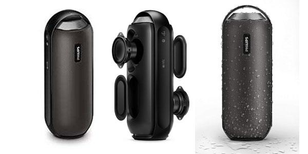 Altavoz portátil Philips BT6000 con bluetooth, nfc, 2x 6 W, barato en Amazon