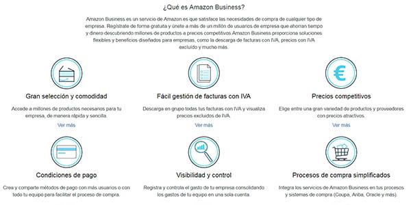 Amazon Business cuenta profesional compra online para empresas