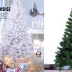 Árbol de Navidad artificial con soporte metálico de 120 cm barato en Amazon