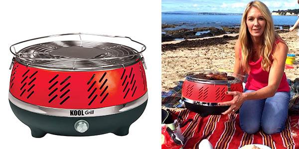 barbacoa portátil Kool compacta para cocinar al aire libre barata