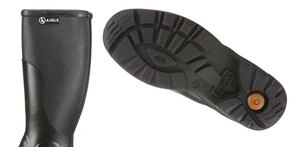 botas de agua unisex Aigle Rboot oferta