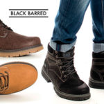Chollo Botines Black Barred Panama en varios modelos para hombre