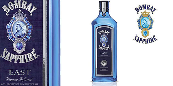 Ginebra Bombay Sapphire London Dry Gin de 70 cl barata en Amazon