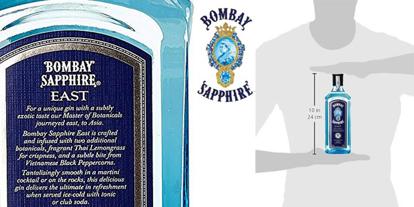 Ginebra Bombay Sapphire London Dry Gin de 70 cl chollo en Amazon
