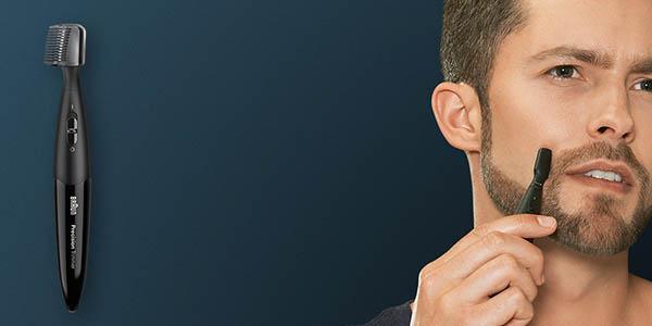 Braun cruZer recortadora con cabezales y medidas para barba oferta