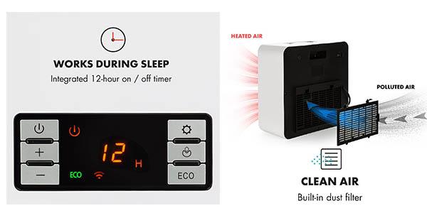 calefactor de aire inteligente y potente Klarstein oferta