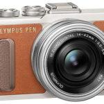 Cámara Evil Olympus Pen E-PL8 con objetivo 14 ‑ 42 mm