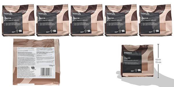 cápsulas de café Solimo compatibles con Senseo oferta