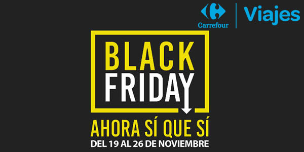 Black Friday ofertas en viajes