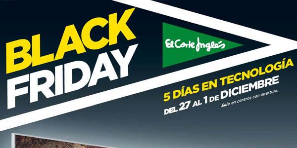 El Corte Inglés Black Friday
