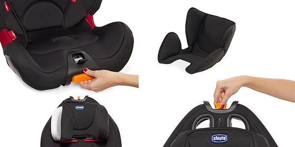 Chicco silla de coche infantil acolchada chollo