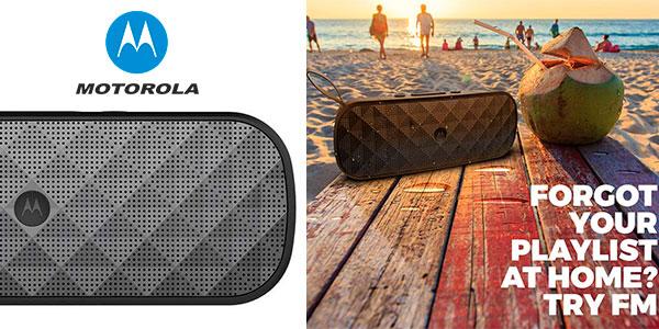 Chollo Altavoz Motorola Sonic Play+ 275 con Bluetooth
