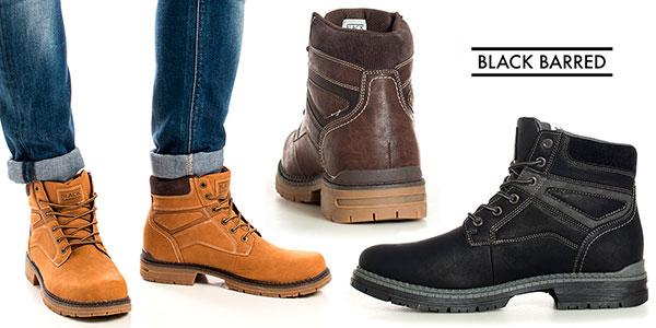 Botas Black Barred Panama en varios modelos para hombre baratas