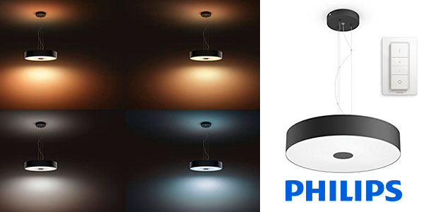 Lámpara colgante Philips Fair LED de 22 W barata