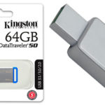 Chollo Memoria USB 3.0 Kingston DataTraveler DT50 de 64 GB