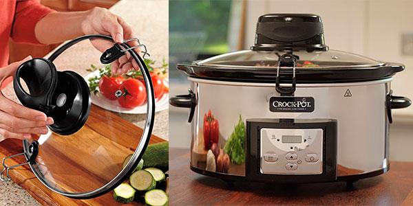 Olla de cocción lenta Crock-Pot CSC012X de 5,7 litros barata