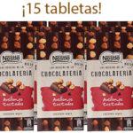 Chollo Pack de 15 tabletas Nestlé de chocolate negro y avellanas