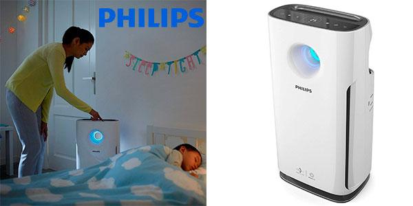 Chollo Purificador de aire Philips AC3256/10 de 95 m² con modo para alérgenos