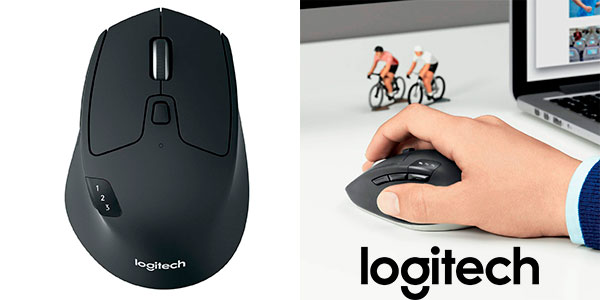 Chollo Ratón inalámbrico Logitech M720 Triathlon para Windows y Mac