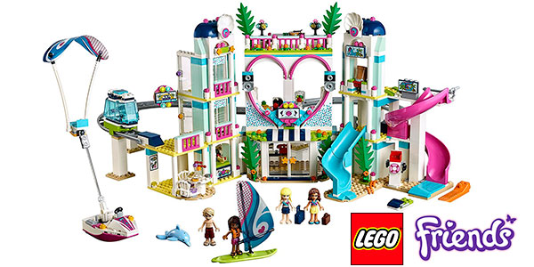 Chollo Set Resort Heartlake City de LEGO Friends con 5 minifiguras