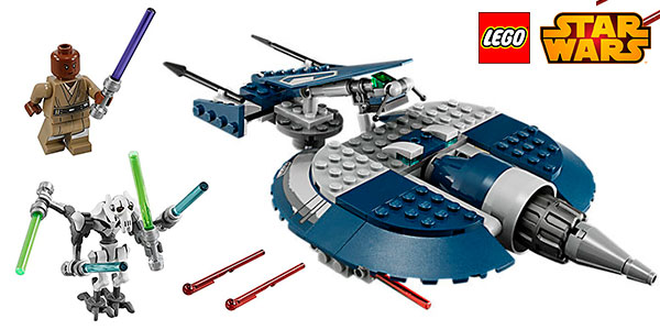 Chollo Speeder del General Grievous de LEGO Star Wars